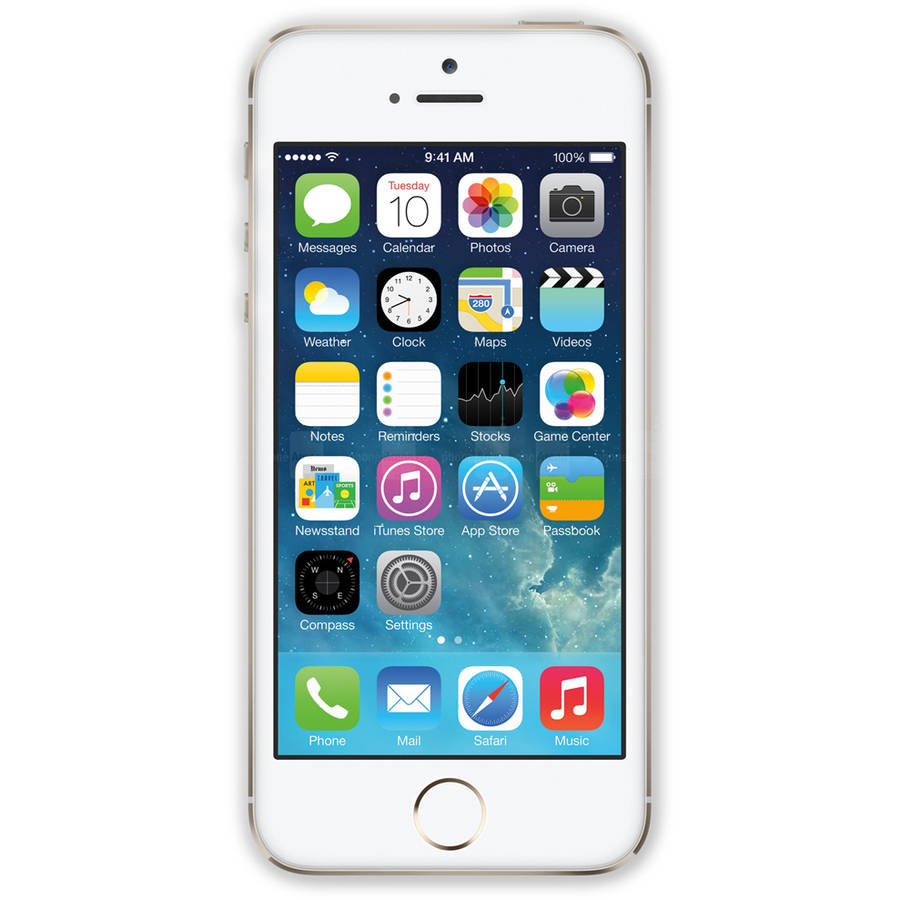 Certified Refurbished Apple iPhone 5S 32GB GSM Smartphone (Unlocked), Gold by Apple