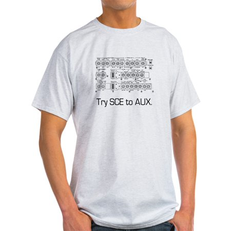CafePress - Try SCE To AUX. T-Shirt - Light T-Shirt - CP