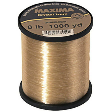 Maxima Crystal Ivory Fishing Line