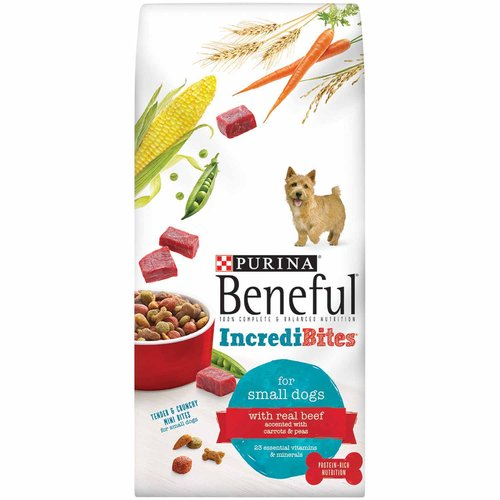 Purina Beneful IncrediBites with Real Beef Dry Dog Food, 6.3 lb