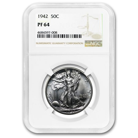 1942 Walking Liberty Half Dollar Proof-64 NGC