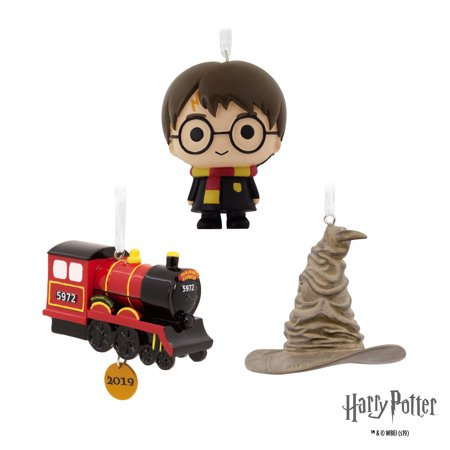 Hallmark Christmas Ornaments 2019.Hallmark 2019 Harry Potter Hogwarts Set Of 3 Christmas