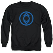Green Lantern Blue Emblem Mens Crewneck Sweatshirt