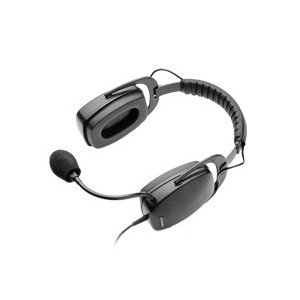 Plantronics SHS2083-01 Ruggedized Headset Binaural OTH Wired (Best Plantronics Headphones For Offices)
