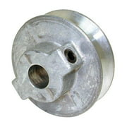 Dial 4303558 Steel Silver Fixed Motor Pulley