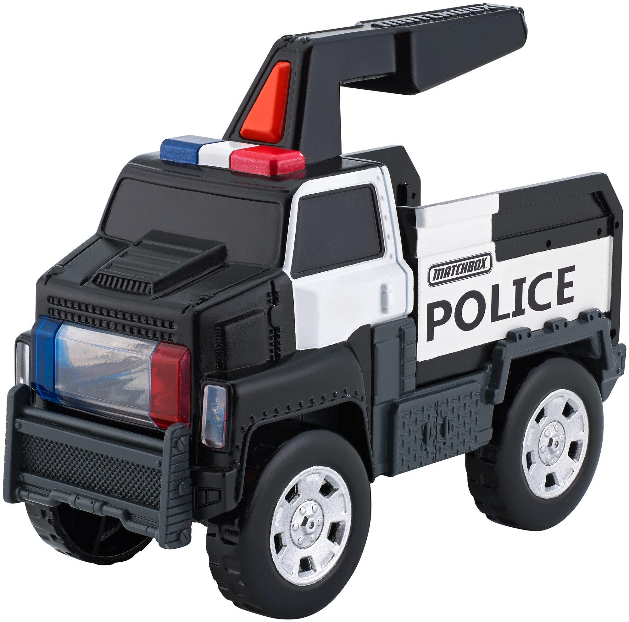 Matchbox Police Truck Flashlight