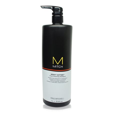 Paul Mitchell Mitch Heavy Hitter Deep Cleansing Shampoo 33.8 Oz