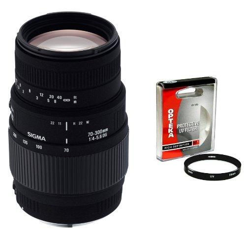 Sigma 70-300mm f/4-5.6 DG Macro Telephoto Zoom Lens with ...