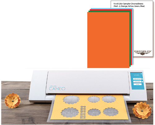 Silhouette Cameo Cutter Bundle with 10 ChromaSheets