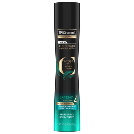 TRESemme Compressed Micro Mist Hair Spray Extend Hold Level 4 5.5 - Tresemme Super Hold