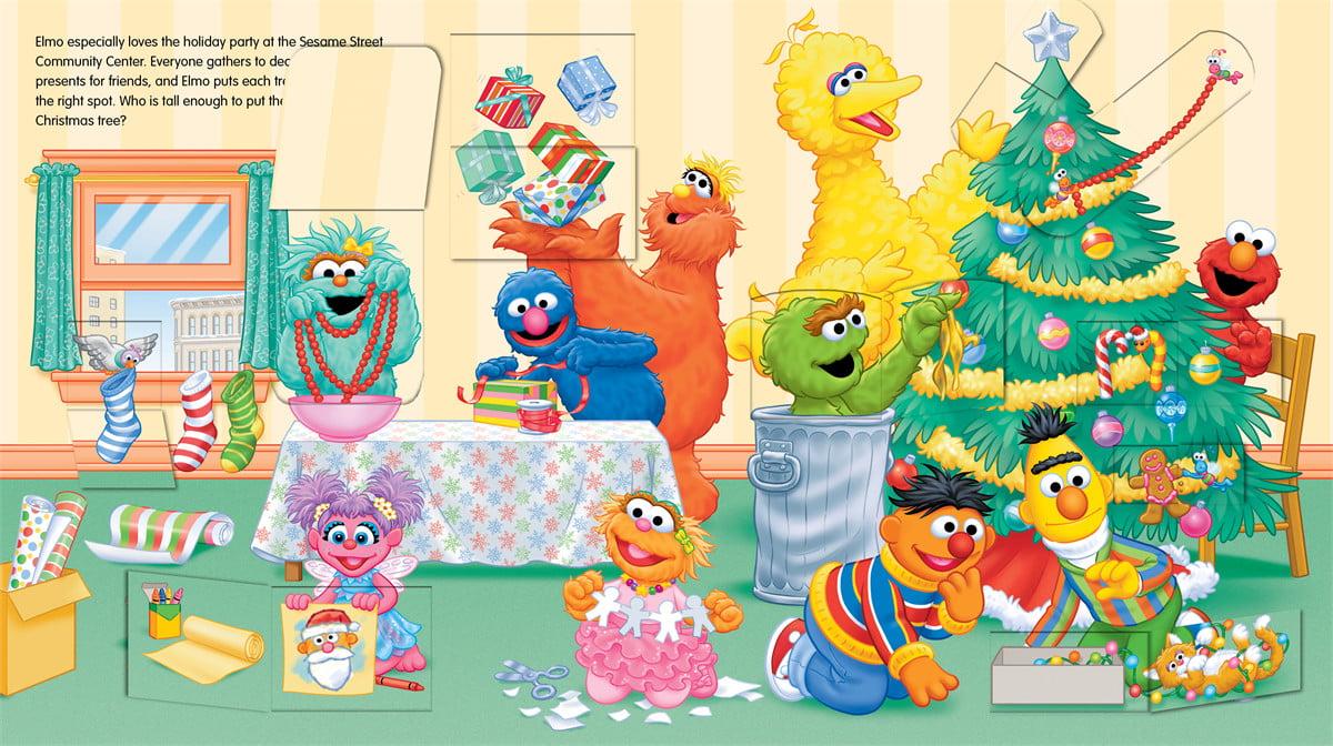 Sesame Street Elmo S Merry Christmas Part Of Lift The Flap