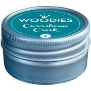 Woodies Dye-Based Ink Tin-Carribean Creek