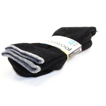 Smartwool NEW Black Merino Wool Tall Womens Size Medium M Casual Socks