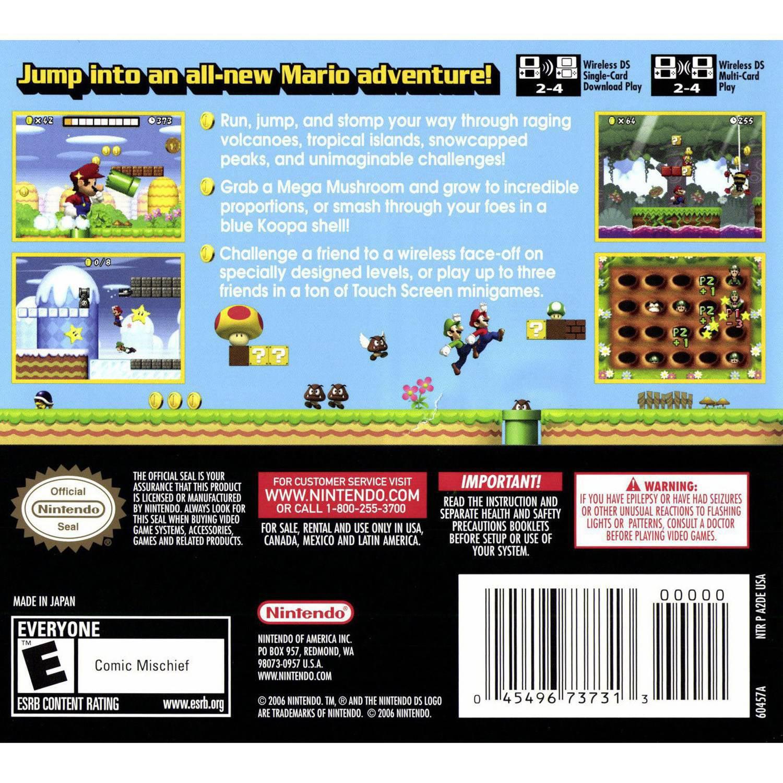 Nintendo New Super Mario Bros (DS) - Pre-Owned