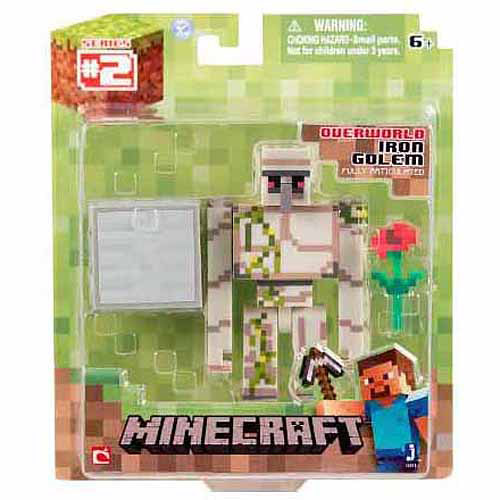 Minecraft Core Iron Golem Action Figure