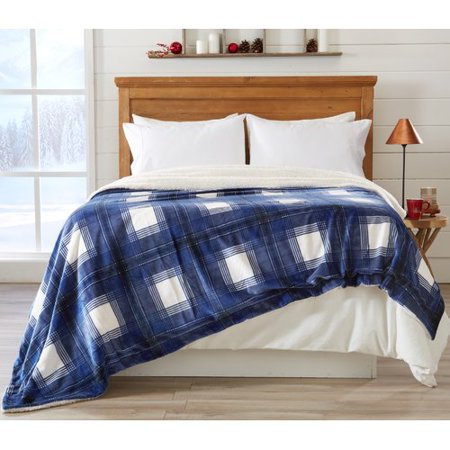 Home Fashion Designs Premium Reversible Luxury Polyester Blanket Walmart Com Walmart Com