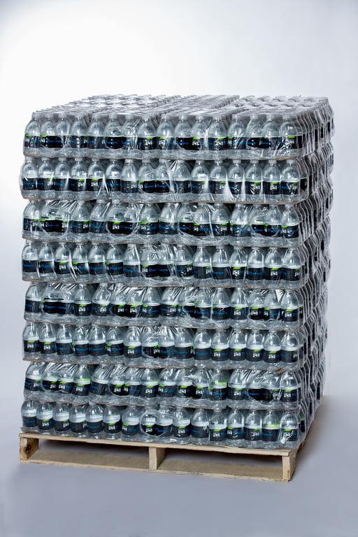 Custom Labeled Bottled Spring Water, 12fl oz (1 pallet: 84 cases; 2016 Bottles, 24 Bottles... by Premier Label Water Co