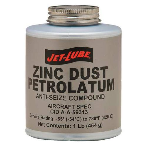 JET-LUBE 27003 Anti Seize Compound, Paste, 16 oz.