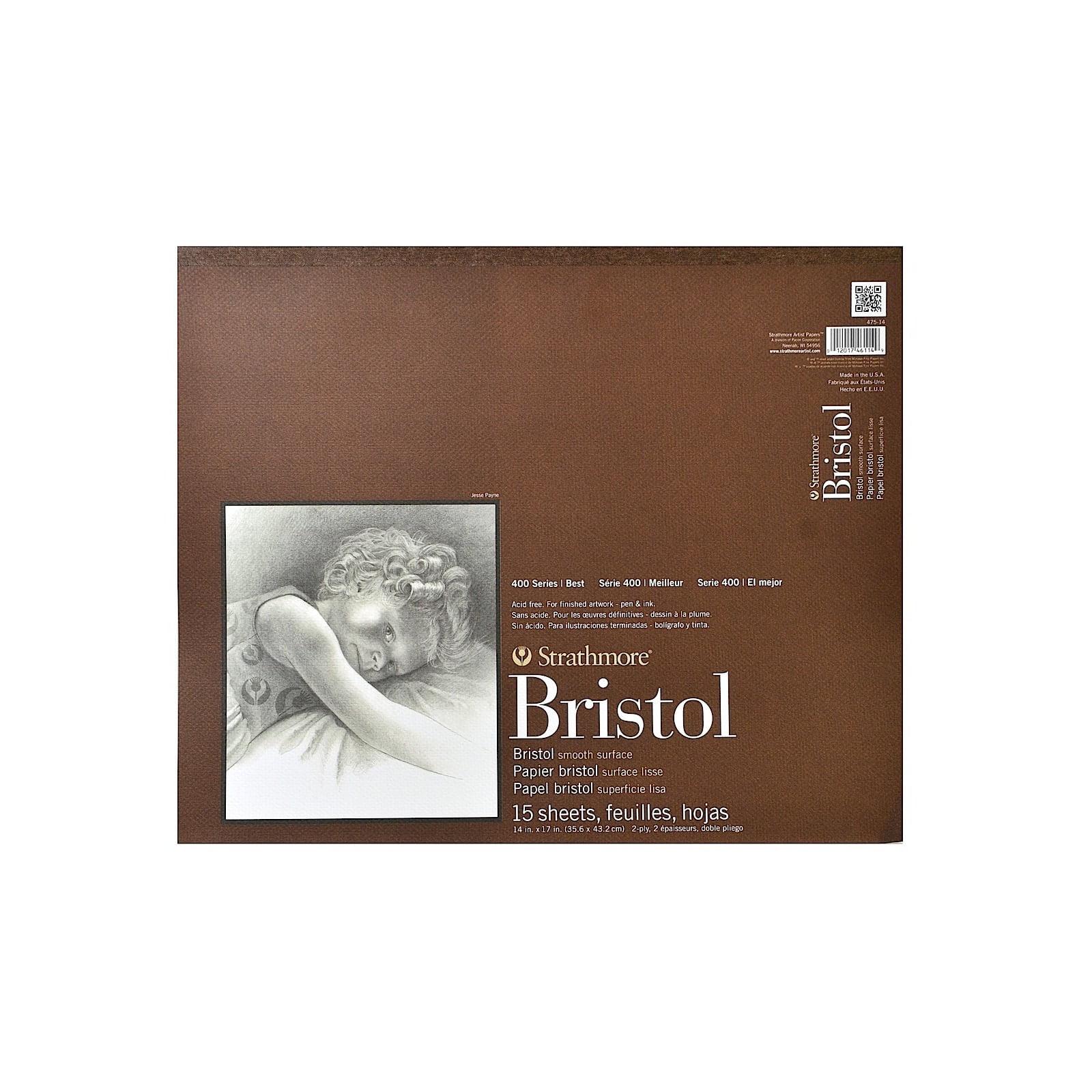 Strathmore 400 Bristol 2Ply Vellum 14X17 Pad