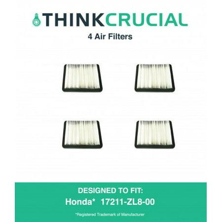 4 Honda 17211 Zl8 023  17211 Zl8 000 17211 Zl8 003  Stens 102 713  Napa 7 08383 Air Filter
