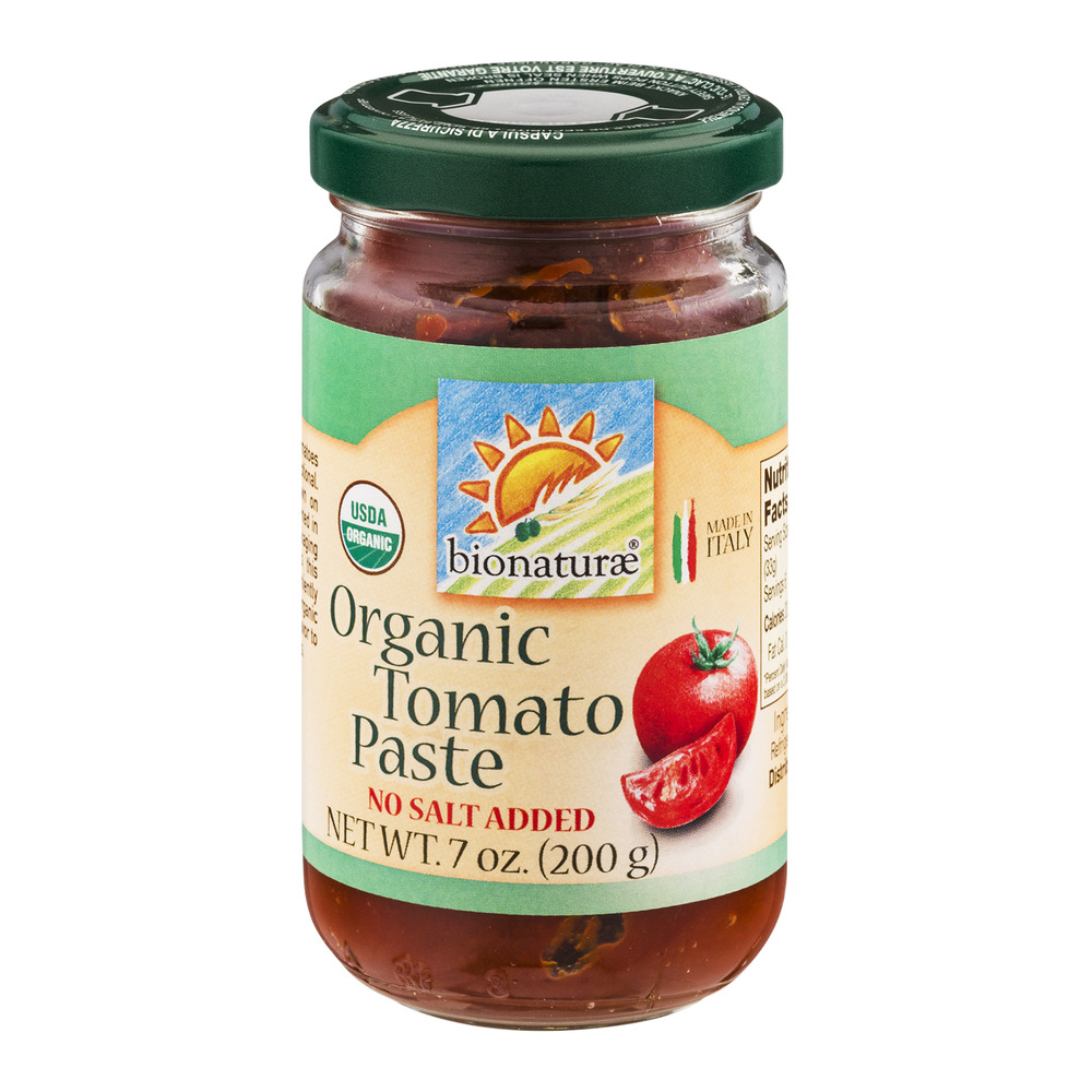 Bionaturae Organic Tomato Paste, 7.0 OZ