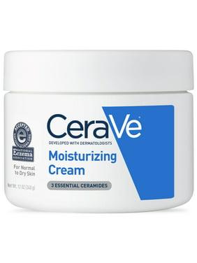 CeraVe Moisturizing Cream, Face and Body Moisturizer, 12 oz