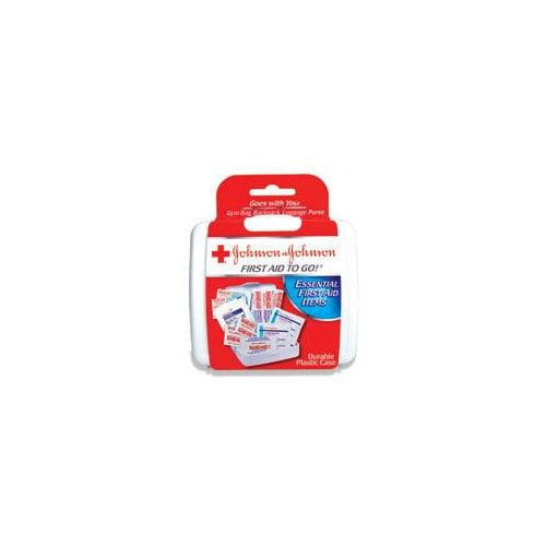 JOHNSON & JOHNSON                                  Aid To Go!  Mini First Aid Kit (Set of 48)