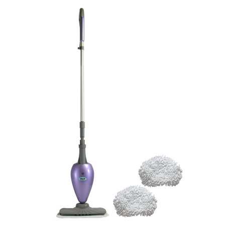 Shark Microfiber Steam Mop Cleaner Purple 2 Mop Pads