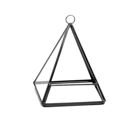 WGV International Pentahedron Pyramid Glass Terrarium