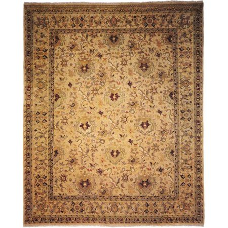 K2 Floor Style Agra Ivory Hand Made Wool Area Rug