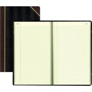 Rediform, RED57151, Texhide Cover Record Books with Margin, 1 Each, Black