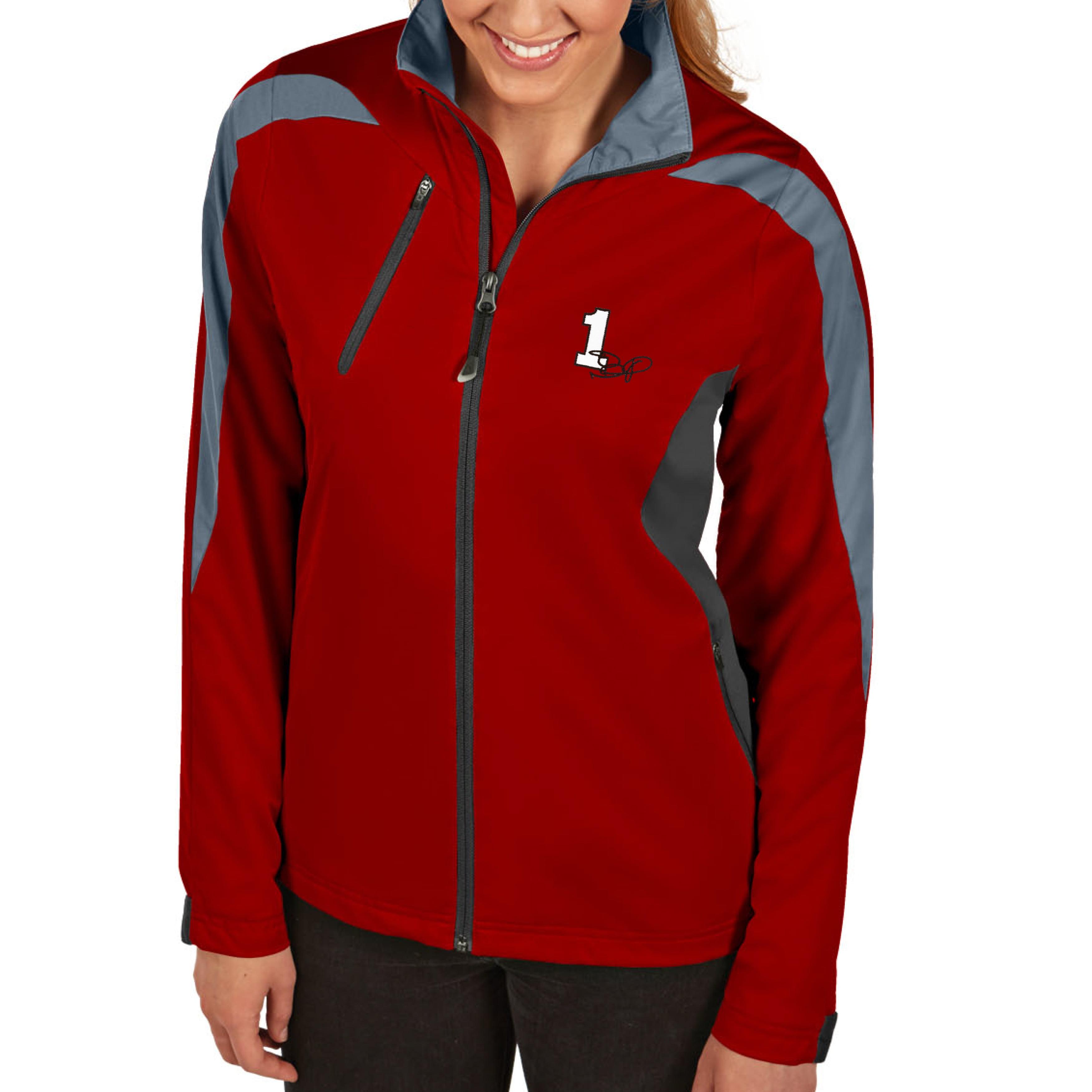 Jamie McMurray Antigua Women's Discover Full Zip Jacket - Red