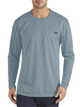 Genuine Dickies Men's Long Sleeve Performance Pocket T-Shirt