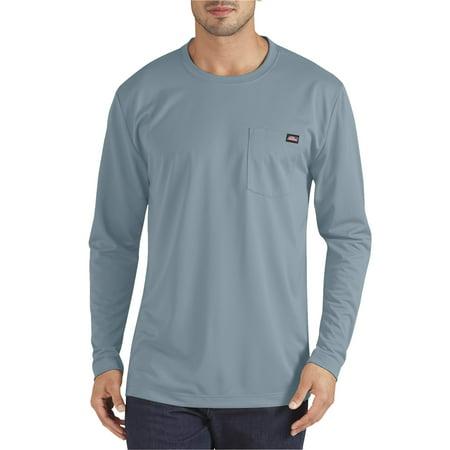 Dixie Tee Shirts - Big Men's Long Sleeve Performance Pocket T-Shirt
