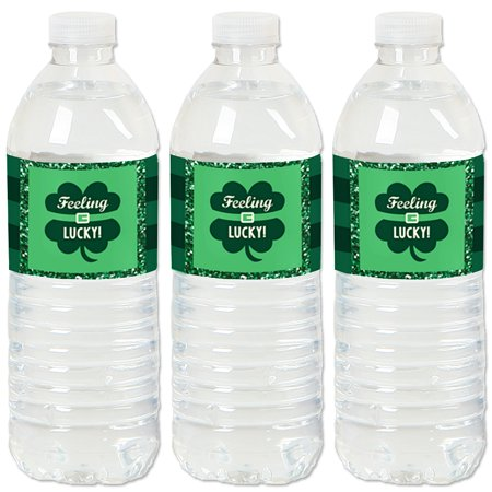 St. Patrick's Day - Saint Patty's Day Party Water Bottle Sticker Labels - Set of 20 (St Patrick's Day Party)