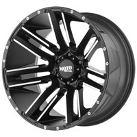 "Moto Metal MO978 Razor 18x9 5x5"" +18mm Black/Machined Wheel Rim 18"" Inch"