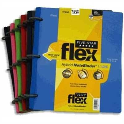 Five Star Flex Hybrid Notebinder- 29104- Pack of 6