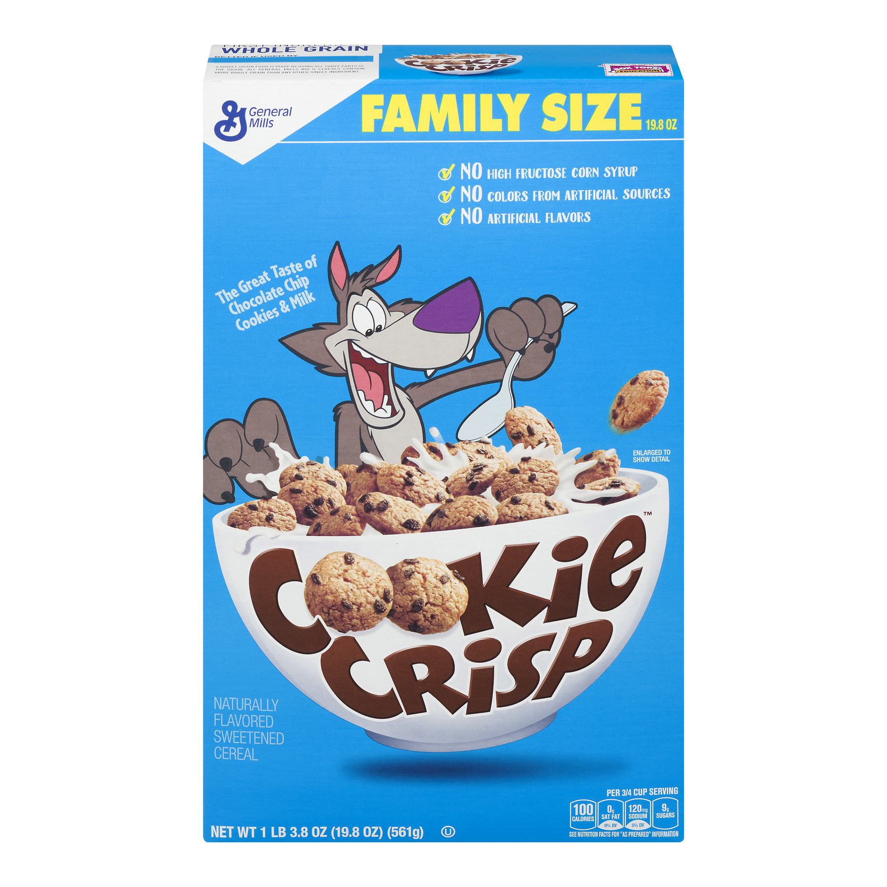 Cookie Crisp™ Chocolate Chip Cookie Flavored Cereal 19.8 oz Box