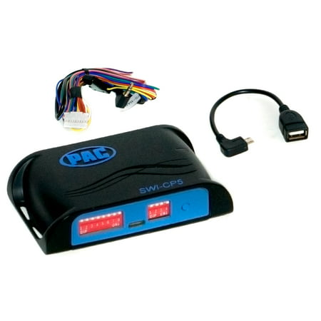 PAC Audio SWI-CP5 Steering Wheel Control with Bus Data Morse Steering Controls