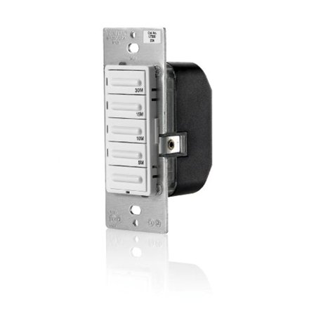 Best Leviton LTB30-1LZ Decora Preset 30 Minute Countdown Timer Switch (2 Pack) deal