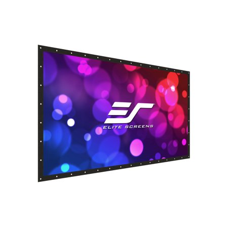 Elite Screens DIY Pro WreilVeil Dual Rear Series, 251-inch 16:9, Front/Rear Projection Do-It-Yourself Indoor & Outdoor Projection Screen, Model: