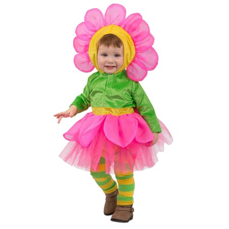 Toddler Bright Flower Costume](Flower Costum)