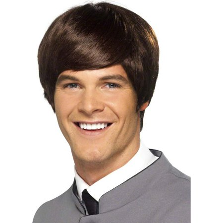 60's Male Mod Short Costume Wig Adult: - 60's Wigs