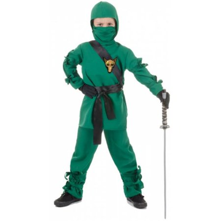 Costumes for all Occasions UR25852LG Ninja Child Green Large