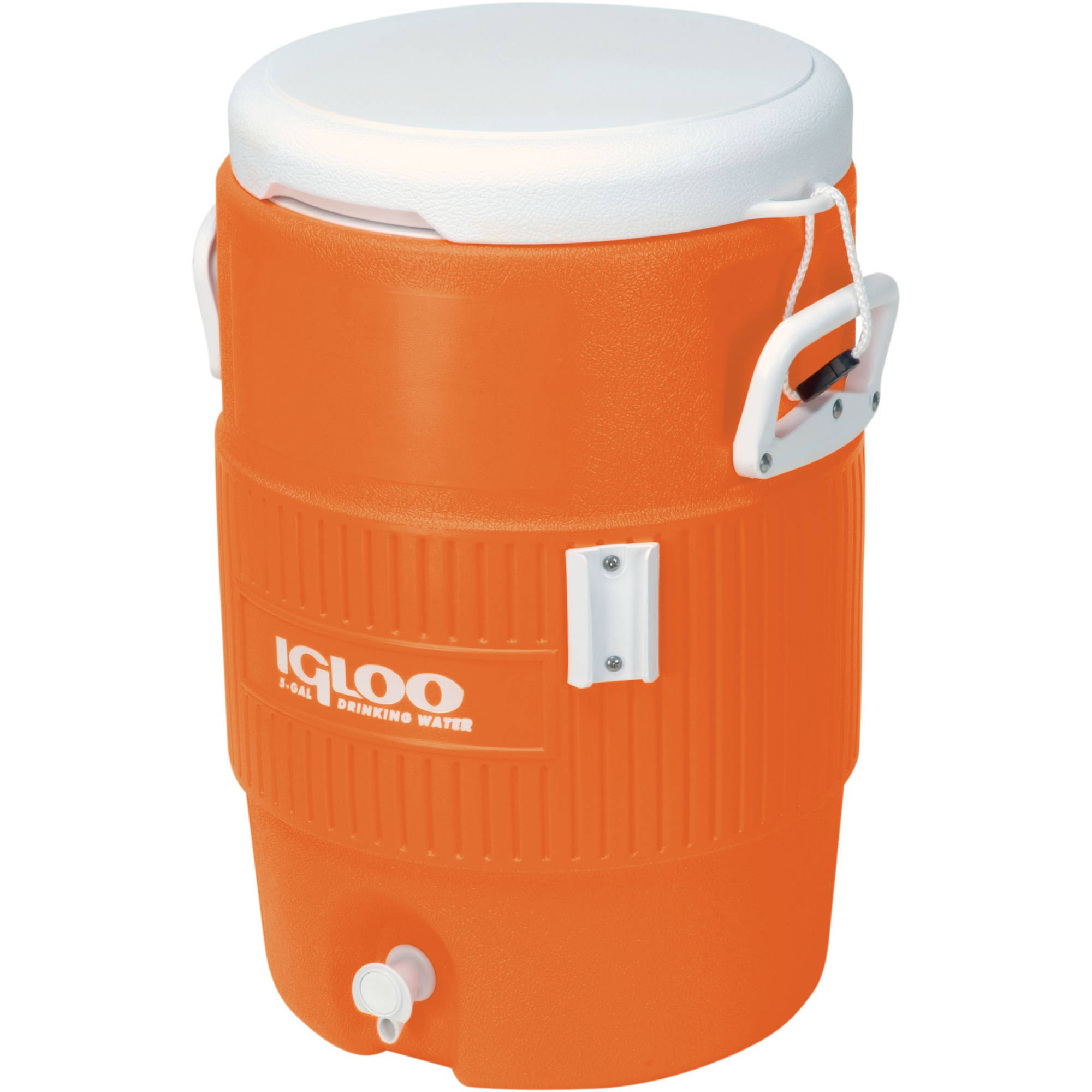 Igloo 5-Gallon Heavy-Duty Beverage Cooler, Orange by Generic