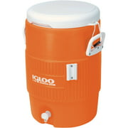 Igloo 5-Gallon Heavy-Duty Beverage Cooler, Orange