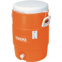 Igloo 5-Gallon Heavy-Duty Beverage Cooler (Orange)