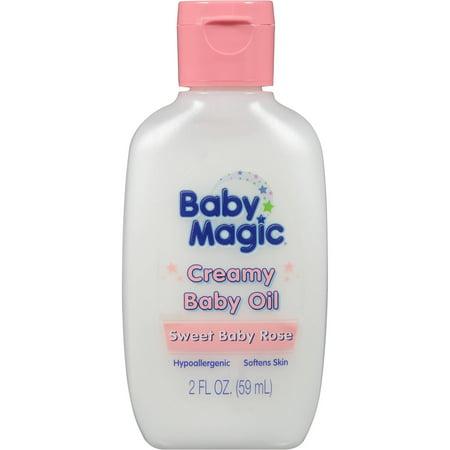 Baby Magic crémeuse Huile pour bébé, 2 fl oz
