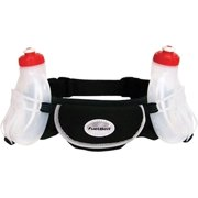 FuelBelt Wachusett Hydration Belt with Two 10oz Bottles: Black One Size