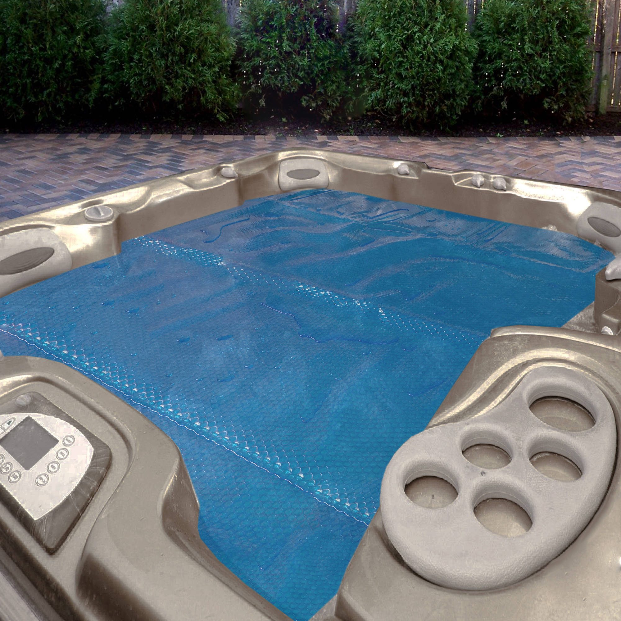 solarplex plus 7u0027 x 8u0027 spa u0026 hot tub solar blanket
